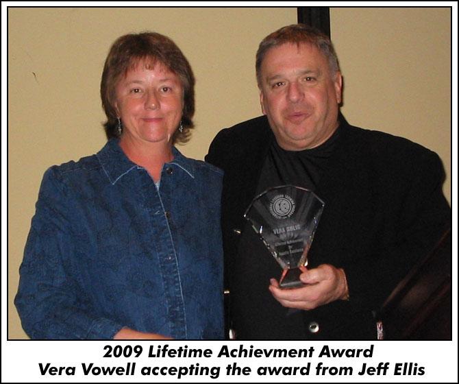 Lifetime Achievement Award Vera Vowell