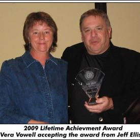Lifetime Achievement Award Vera Vowell
