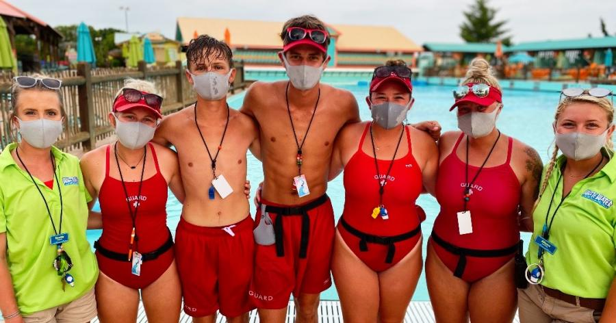 SDS White Water lifeguards