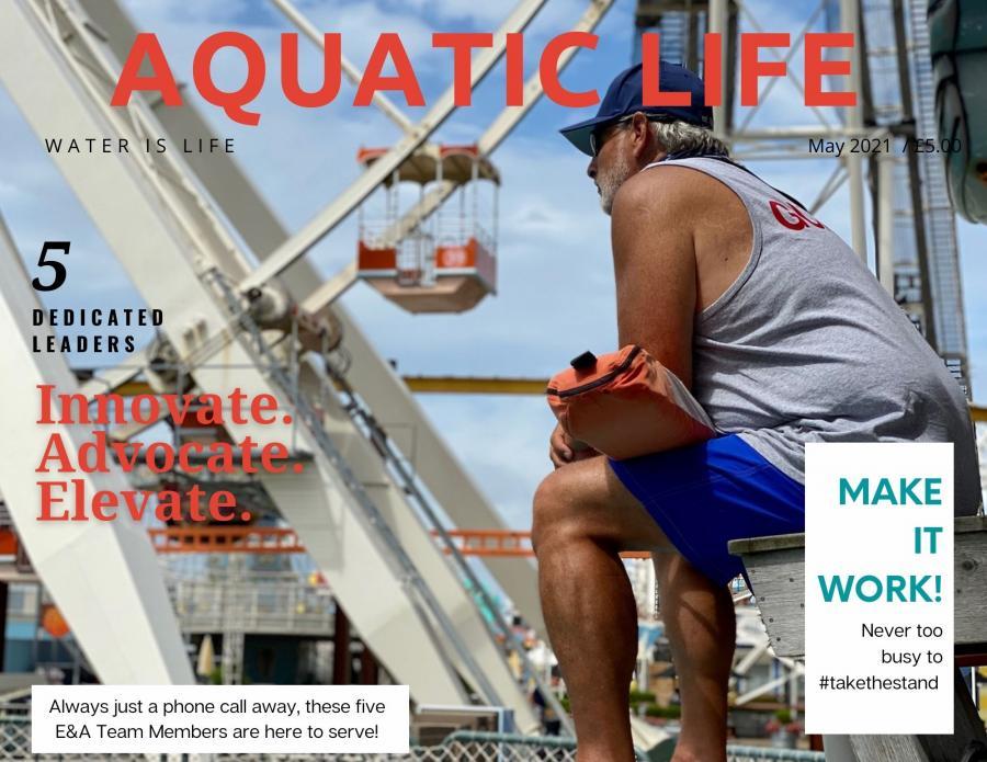 Aquatic Life magazine cover